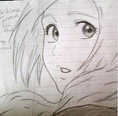 Inoue Orihime - Bleach by Bokor Klaudia