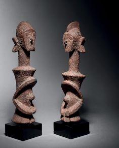 Statues, African Sculptures, Tribal Art, African Art, Art Gallery, Ceramics, Abstract, Paris 11, Pasta