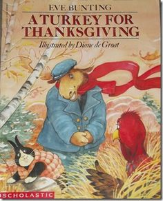 Great list of Thanksgiving books for kids.