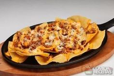 Receita de Nacho especial em receitas de salgados, veja essa e outras receitas aqui!