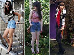 Liivia Aguiar: Short de cintura alta , média ou baixa?