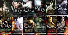 Black Dagger Brotherhood series....the BEST series you will ever read, especially if you liked the Twilight Saga series. I am about to read them for the 3rd time!!!! <3