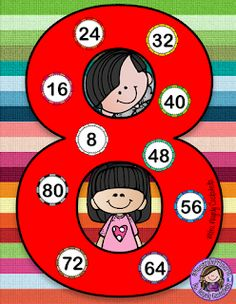 SGBlogosfera. María José Argüeso: REPASAMOS LAS TABLAS DE MULTIPLICAR Kids Math Worksheets, Maths Puzzles, Math For Kids, Activities For Kids, Happy Birthday Banner Printable, Math Board Games, Math Blocks, Magic Squares, Classroom Rules