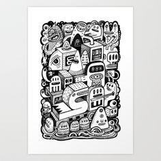 lArche Art Print by Exit Man - $18.72