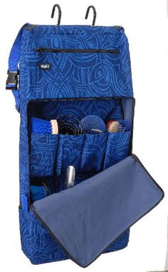 Fun Print Heavy Nylon Grooming Carrier/Organizer | ChickSaddlery.com