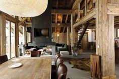 Location prestige Chalet Savoie : Le Petit Alaska forment un charmant hameau proche du centre ...