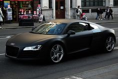 holy geezus flat black r8 yes please