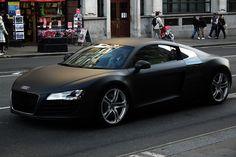 Matte black R8.