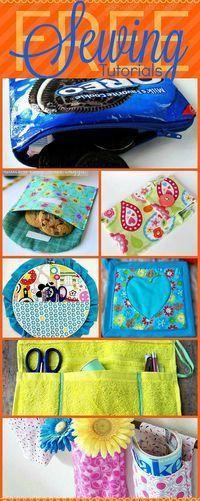 Free Sewing Tutorials at http://sewlicioushomedecor.com