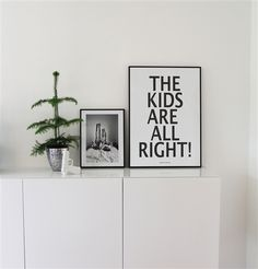 Miniwilla The Kids Are Alright Print WANT