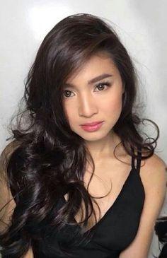 Filipino Women Dating. Filipina Actress, Filipina Beauty, Filipina Makeup, Nadine Lustre, Celebs, Celebrities, Asian Beauty, Asian Girl, Makeup Looks