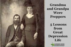 5 Lessons from Life in the Great Depression - Childhood stories from my mother pass on simple lessons that are still valuable today.