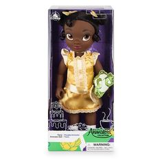 Disney Animators' Collection Tiana Doll - The Princess and the Frog - shopDisney Mickey Mouse Club, Disney Mickey Mouse, Disney Store Uk, Girl Toys Age 5, Disney Enchanted, Cool Toys For Girls, Popular Toys, Walt Disney Animation Studios, Disney Art