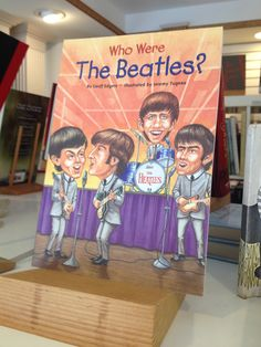 SBS OFFER! The Spiral Bookcase - Who Were the Beatles?, $4.99 // Local artist bookmark with purchase. Valid 11/30/13 only. Present pin at register to receive deal.