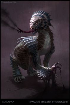 Marajack - creature concept by Cloister