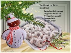 added a new photo. Christmas Candy, Christmas Baking, Christmas Cookies, Merry Christmas, Christmas Ornaments, Christmas Recipes, Christmas Biscuits, Czech Recipes, Gingerbread Cookies