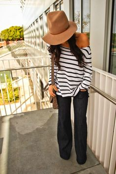 casual style, stripes
