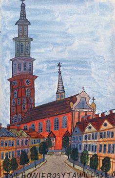 Nikifor | American Folk Art Museum Political Art, House Landscape, Gcse Art, Naive Art, Outsider Art, American, Artsy Fartsy, Art Museum, Poland