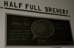 Half Full Brewery, Stamford CT