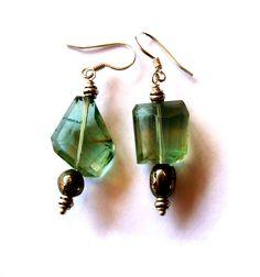 Fluoriet Pyriet earrings