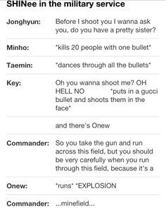 Gotta love Onew and the Onew Condition ;D