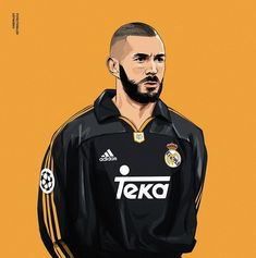 Retro Football, Football Art, World Football, Football Players, Fotos Real Madrid, Real Madrid Wallpapers, Surf, Football Wallpaper, Caricature