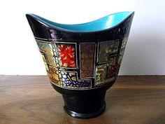 Vintage Midcentury Italian Art Pottery Vase by MTippingAtelier, $85.00