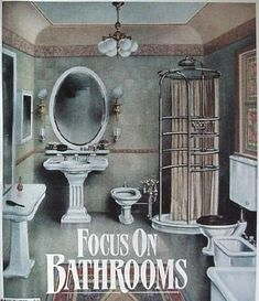A Victorian Bathroom From The 1900 S Historic