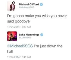 5SOS+tweeting+each+other - Sugarscape.com