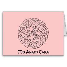 Mo Anam Cara celtic knot