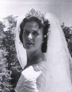 Marie Therese of Wurttemberg, wearing Queen Pauline's diamond tiara.