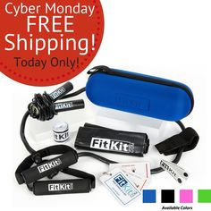 Give the #gift of #fitness with FitKit--Total Fitness in a Kit #holidays