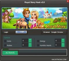 "Royal Story Hack Cheats Tool This Royal Story Hack will help you generate unlimited Coins and Rubies   Royal Story Hack Cheat is our newest ""modhacks.com"" fresh from the oven. We worked hard on this one because,being a multi-platform Exploit it can be very difficult to write. After we tested this Royal Story Hack like … Continue reading Royal Story Hack Cheats"