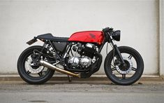 HONDA A perfect 1977 CB750 cafe racer, Wrenchmonkees' style by Frederik Christensen from Denmark | Sumally