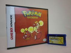 Pokemon Moemon for the Game Boy Advance! Nintendo Retro Collectible - GB - Pokemon Fire Red - Pikachu - Jontron - Waifu - Great Gamer gift! by 8bitevolutiongaming on Etsy https://www.etsy.com/listing/253891845/pokemon-moemon-for-the-game-boy-advance