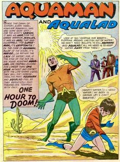 Cavalcade of Comic Book Images Greek Warrior, Comic Book Pages, Book Images, Aquaman, Vulnerability, Dawn, Dc Comics, Adventure, Superhero