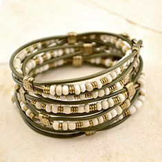 Tahoe 5 Wrap   Free Wrap Bracelet Project Tutorial   Beadshop.com More