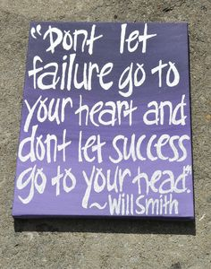 Since when did Will Smith become this great Philosopher? Must have been after Wild, Wild West. ;)