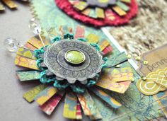 Great flower tutorial by Amy Heller on the Crate Paper blog.