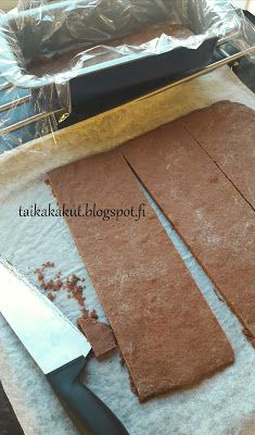 Tarun Taikakakut: Kinuskikissan Daim-halko Butcher Block Cutting Board, Food And Drink, Cakes, Cake Makers, Kuchen, Cake, Pastries, Cookies, Torte