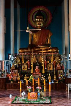 Wat Preah Prom Rath - Siem Reap, Cambodia