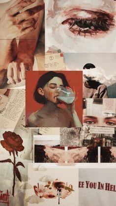 Ideas Fashion Collage Photography Artworks For 2019 Pop Art Wallpaper, Aesthetic Pastel Wallpaper, Aesthetic Backgrounds, Tumblr Wallpaper, Aesthetic Wallpapers, Event Poster Design, Hipster Vintage, Vintage Art, Music Poster