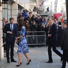 Prince William, who followed his wife and brother inside, has been president of BAFTA since February 2010 and during a working trip to China earlier this year helped to publicise Aardman's work, including Shaun the Sheep's first big screen outing