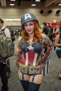 Captain America Pinup