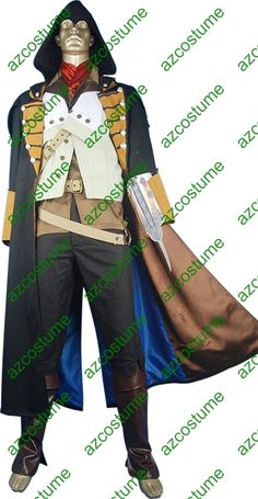 Newest Assassins Creed Unity Arno Dorian Costume How Am I Suppose To Make This As A Kid Costume
