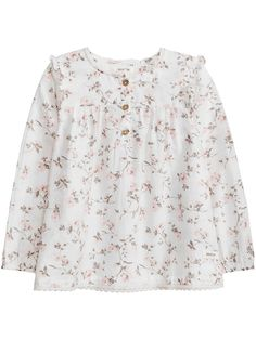 Letar du efter en blus i storlek 56-86? Hos KappAhl hittar du en blommönstrad blus i ekologisk bomull från Newbie. Köp online eller i butik nära dig!
