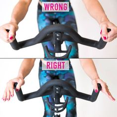 WAYS YOUR SPINNING WRONG: Don't let silly mistakes make your indoor cycling sessions less effective. The next time you park your butt on a bike, right. Cycling Tips, Cycling Workout, Road Cycling, Cycling Quotes, Road Bike, Cycling Shorts, Rapha Cycling, Bicycle Workout, Carb Cycling