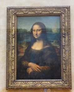 [This week's focus on Paris] After pushing through the sea of people inside the Louvre I finally saw the world's most famous painting Mona Lisa by Leonardo da Vinci! _________________________________ Do you know that this painting is actually very small measuring only 77cm 53cm (30in 21in)? __________________________________ Do check out more pictures of this amazing museum at my blog [link in bio]! __________________________________ #AllisonTravels #MonaLisa #ParisJetaime #Lourve…