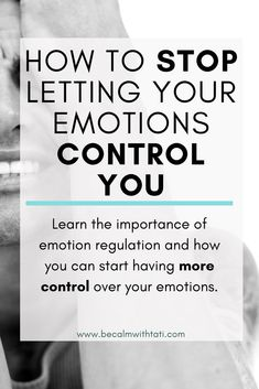 Emotions can leave us feeling helpless, vulnerable and as though we don't have control. Learn effective ways to manage and control your emotional responses. Feeling Numb, Feeling Helpless, Mantra, How To Control Emotions, Controlling Emotions, Chakra, Kundalini, Emotional Awareness, Meditation