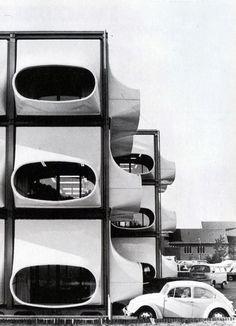 AZM office 1970 - Ontworpen door Laurens Bisscheroux